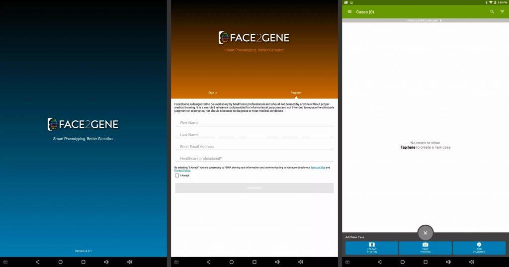 برنامه تشخیص چهره Face2Gene