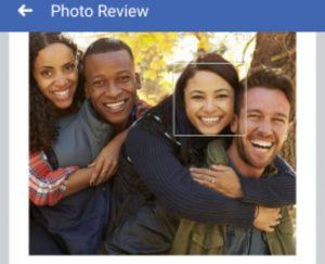 تشخیص چهره فیسبوک
