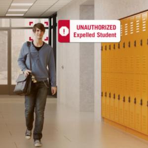 تشخیص چهره محافظت از مدارس