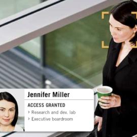 تشخیص چهره کنترل دسترسی