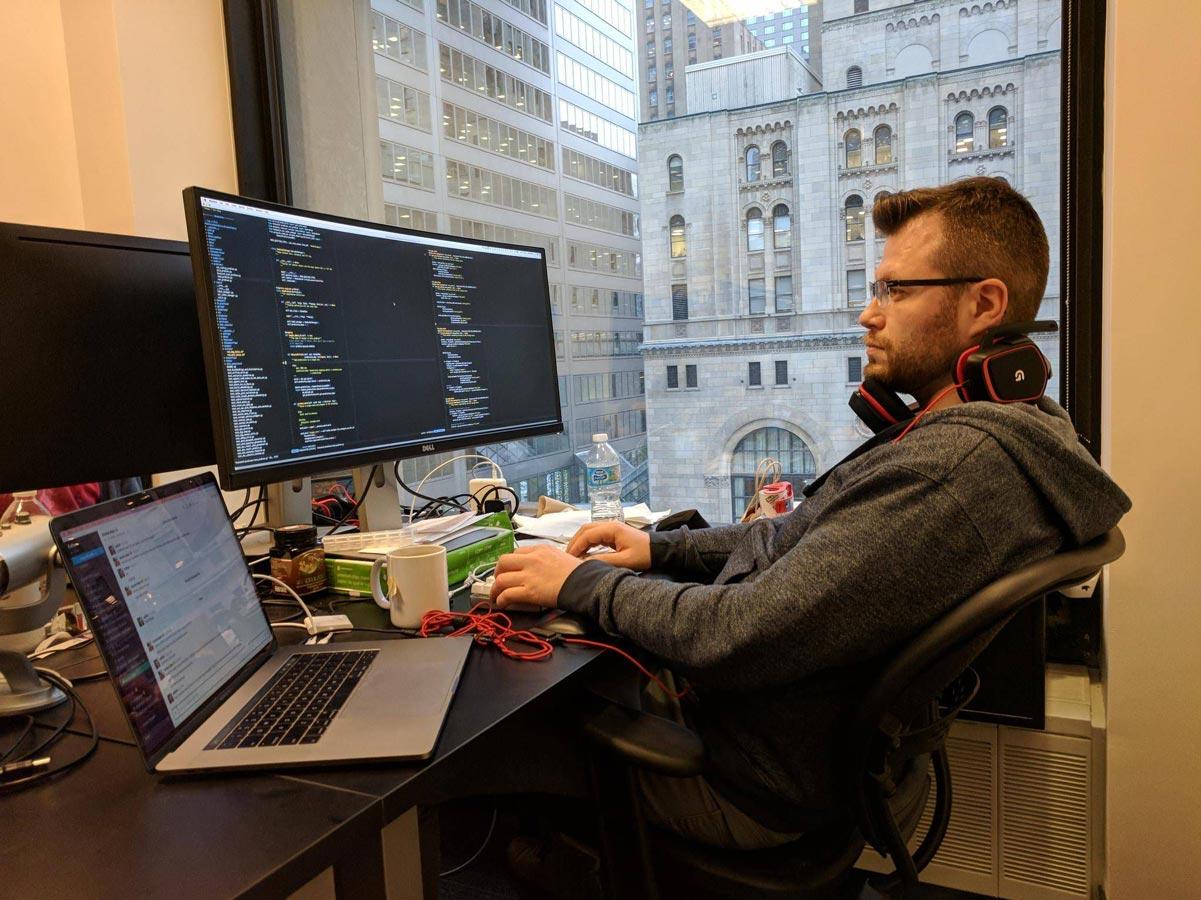 مهندس یادگیری ماشین برنامه نویسی