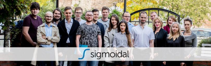 هوش مصنوعی تجارت در sigmoidal