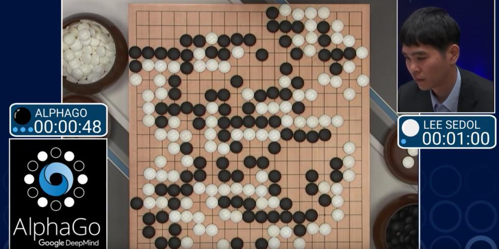 AlphaGo دیپ مایند گوگل مسابقه هوش مصنوعی