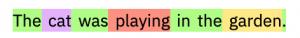 مدل زبانی مثال 1