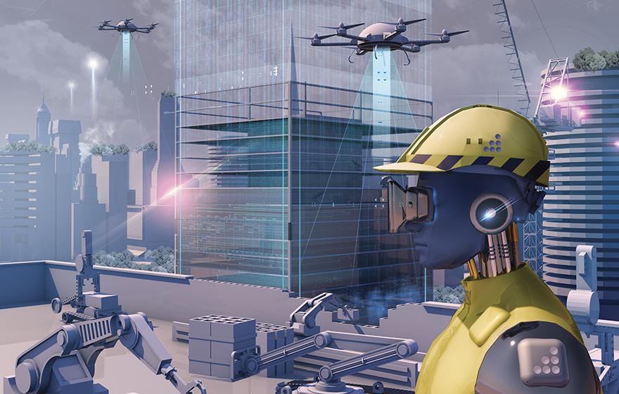 هوش مصنوعی و ساخت و ساز