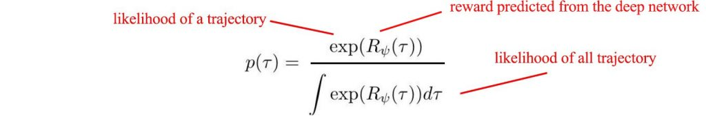 فرمول محاسبه یادگیری تقلیدی و یادگیری تقویتی معکوس