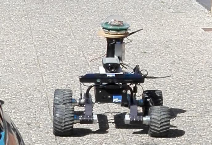 ربات سنجش چراغ خیابان