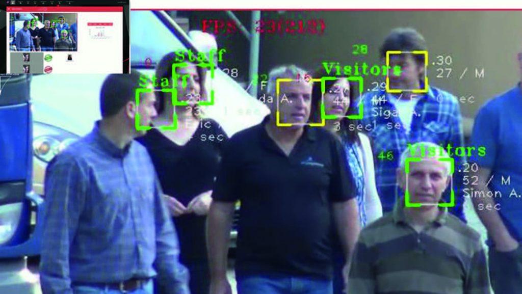 تشخیص چهره به وسیله پهباد
