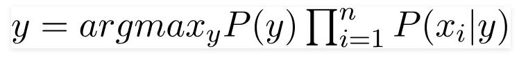 فرمول بیز ساده متغیر کلاس
