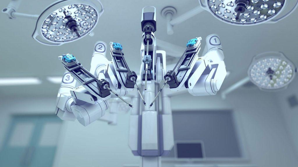 هوش مصنوعی ربات جراحی پزشکی