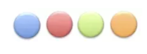 اختلاف آنتروپی توپ های رنگی