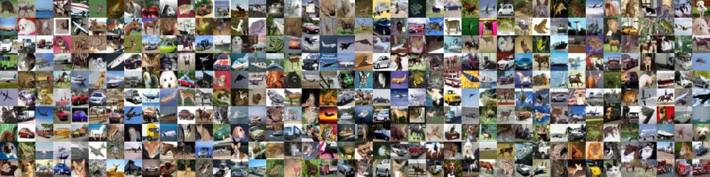 تصاویر غیر پرنده ی مجموعه داده