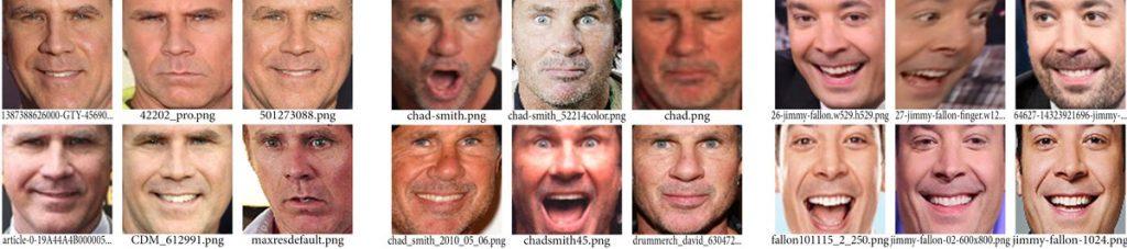 تصاویر چهره ی آموزش ویل فرل چد اسمیت و جیمی فالون