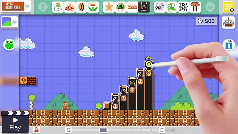طراحی بازی ماریو
