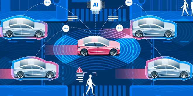 هوش مصنوعی خودرو های خود مختار