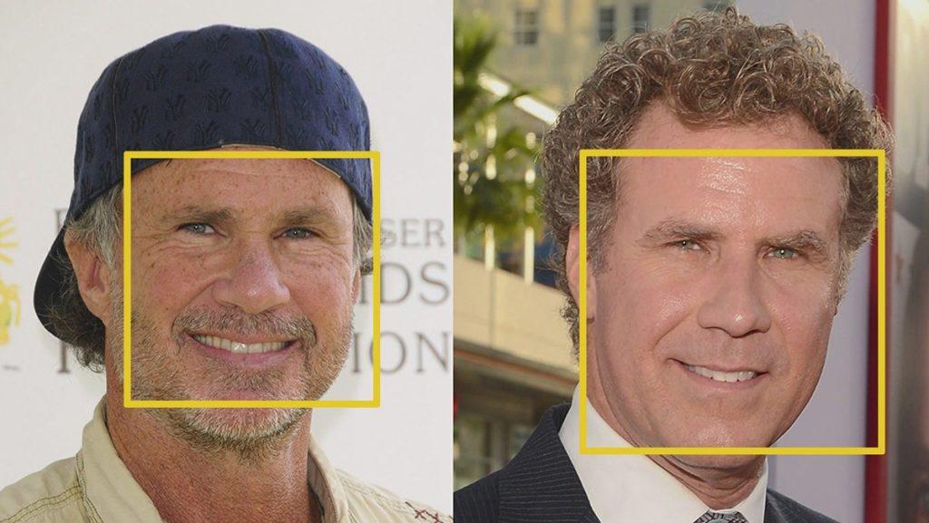 یافتن چهره ی ویل فرل و چد اسمیت