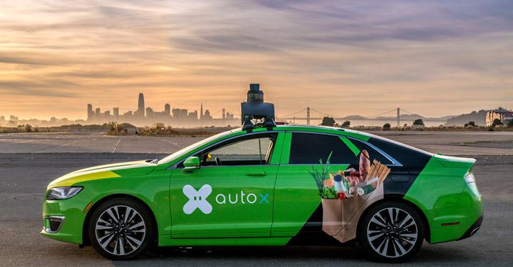 AUTOX هوش مصنوعی در خودرو ها