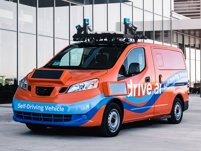DRIVE.AI هوش مصنوعی در خودرو ها