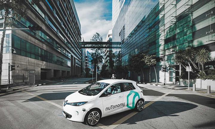 NUTONOMY استفاده از هوش مصنوعی در خودرو ها