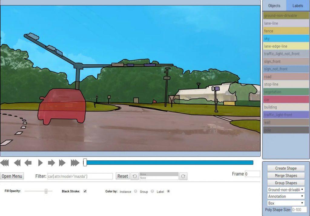ابزار حاشیه نویسی بینایی کامپیوتر Computer Vision Annotation Tool CVAT