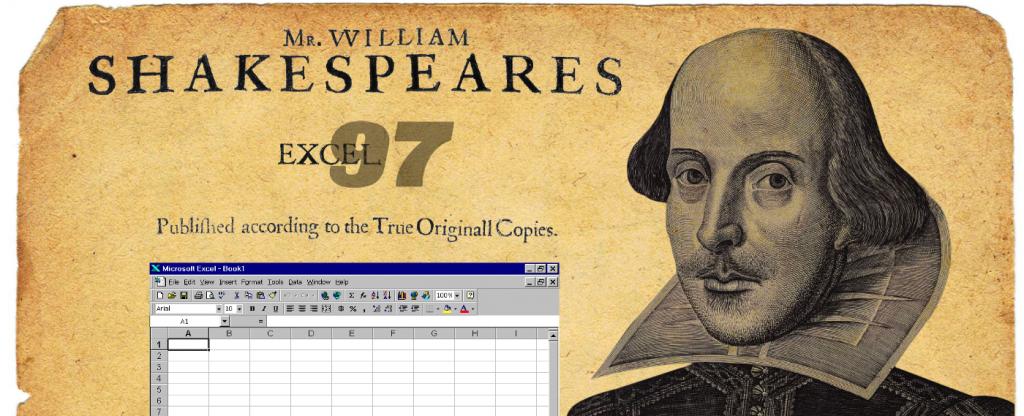 شکسپیر داده های ساختار یافته