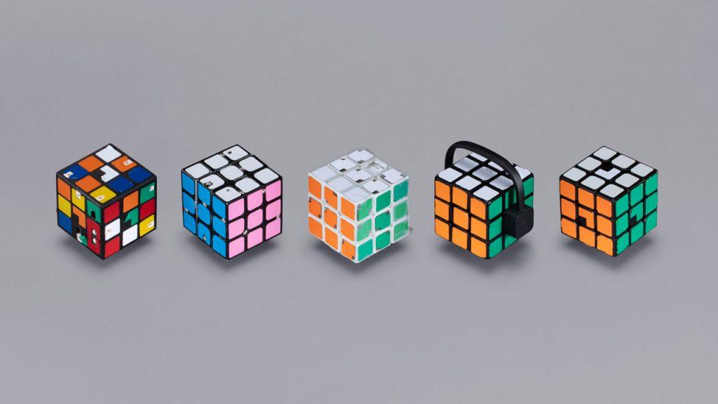 نمونه های اولیه مکعب های روبیک