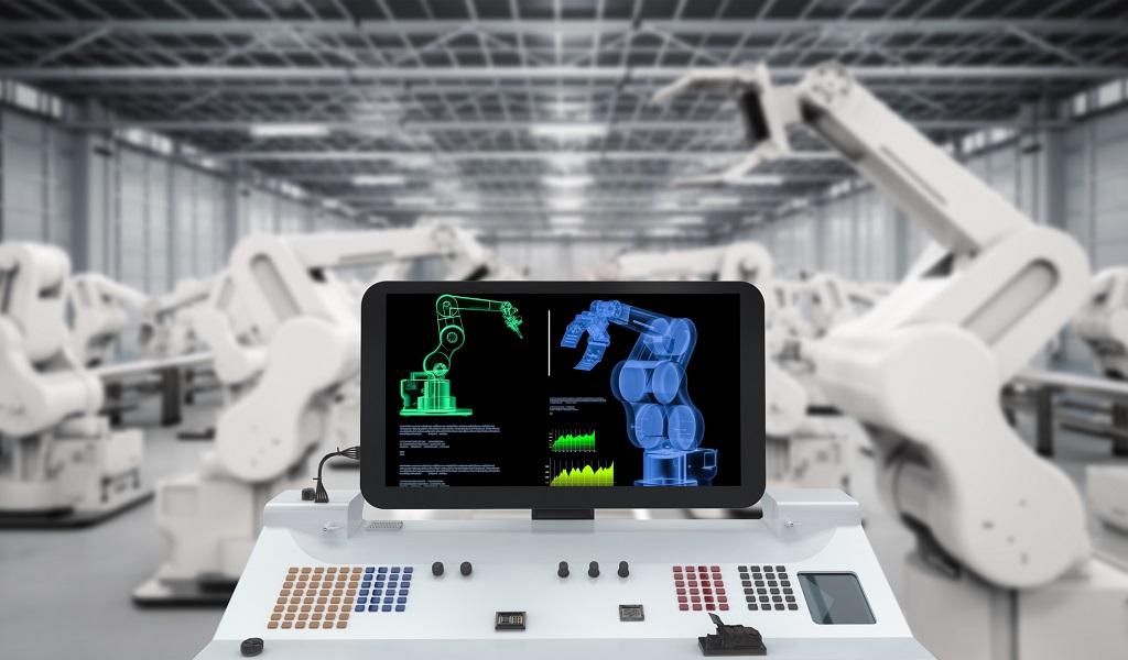 هوش مصنوعی در کارخانه ساخت و تولید
