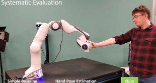 انویدیا گرفتن اجسام توسط ربات با هوش مصنوعی
