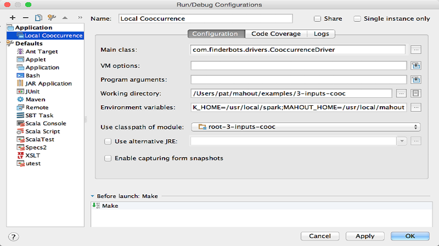 رابط کاربری نرم افزار یادگیری ماشین Apache Mahout
