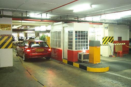 تشخیص پلاک در پارکینگ ها