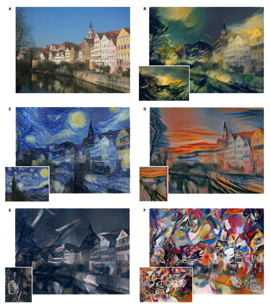 انتقال سبک نقاشی با هوش مصنوعی