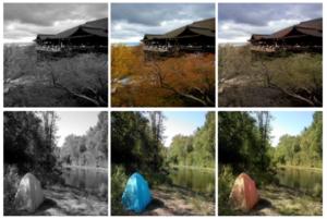 بازسازی رنگ تصاویر با یادگیری عمیق