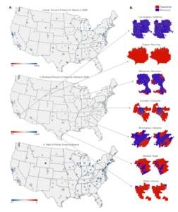 تحلیل جمعیت و نتیجه انتخابات با هوش مصنوعی