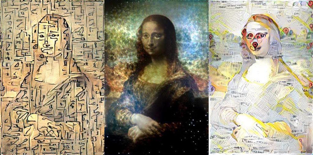 تغییر سبک نقاشی مونالیزا با شبکه های عمیق