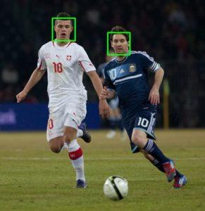 آشکارسازی چهره face detection