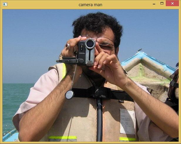 open cv example tutorial - باز کردن عکس در OpenCV
