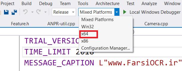 x64 Platform - 64 بیتی