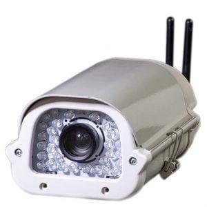 دوربین پلاک خوان تجمیع شده Embedded شاهد IP camera anpr Automatic number-plate recognition